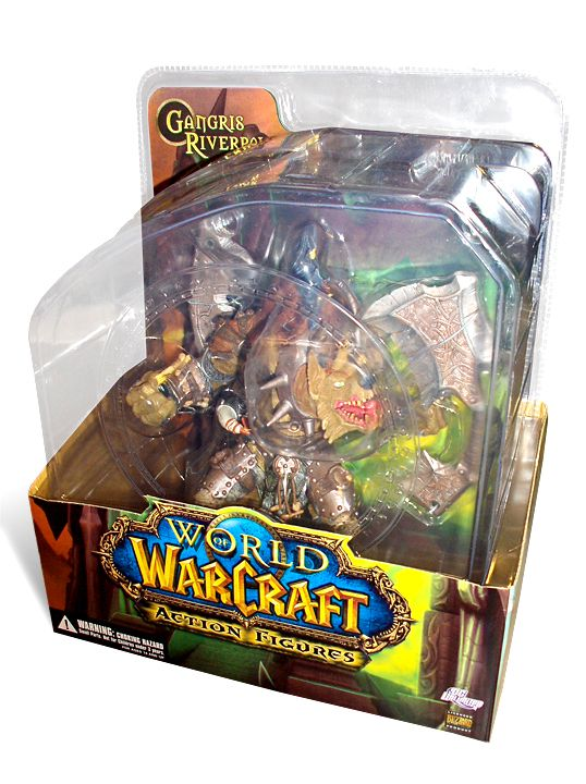 World of Warcraft Series 1 Premium Action Figure Gnoll Warlord Gangris Riverpaw 20 cm - 3