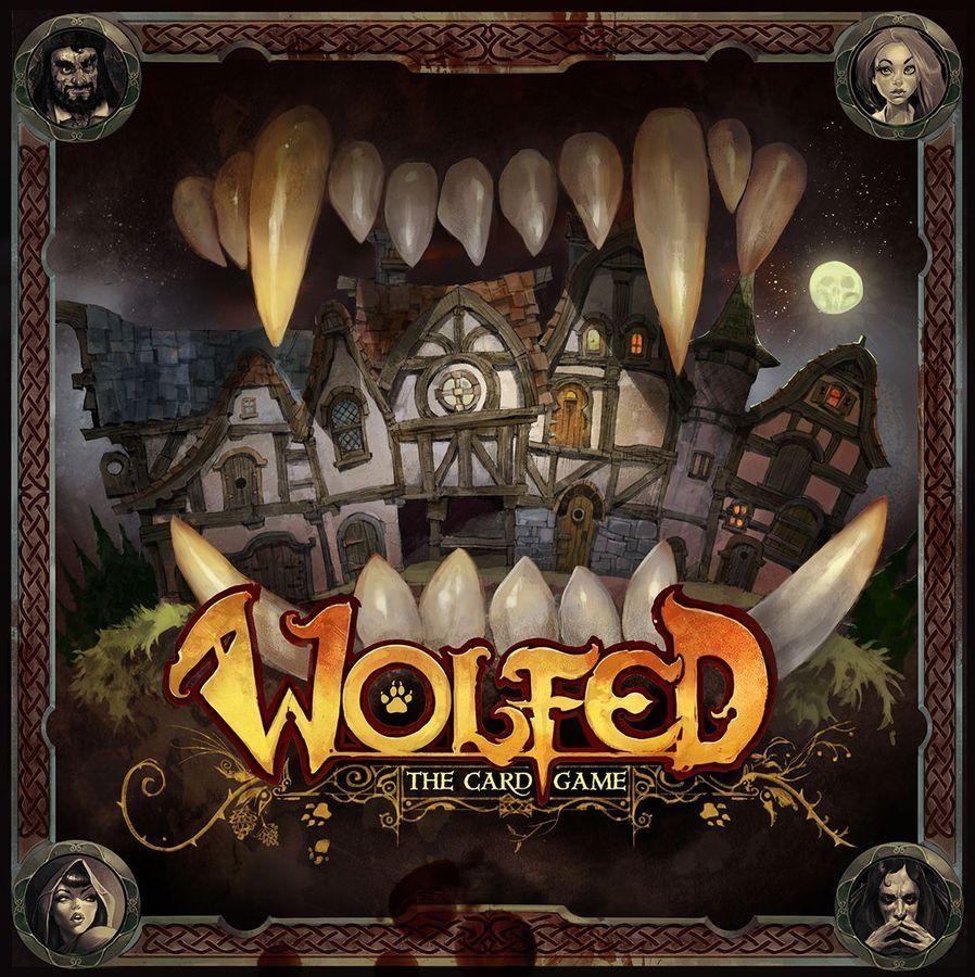 Настолна игра Wolfed, парти, картова - 1