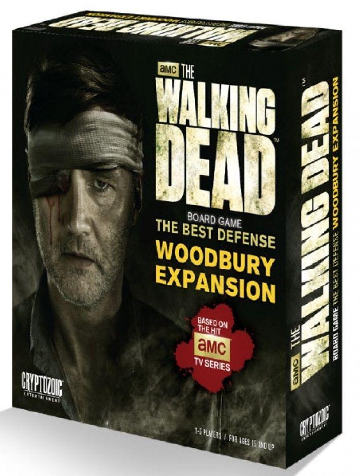 Разширение за настолна игра  The Walking Dead Board Game - The Best Defense - Woodbury Expansion - 1