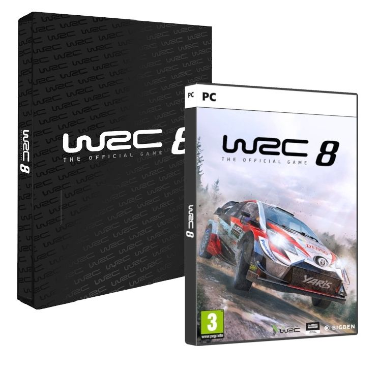 WRC 8 - Collector's Edition (PC) - 1