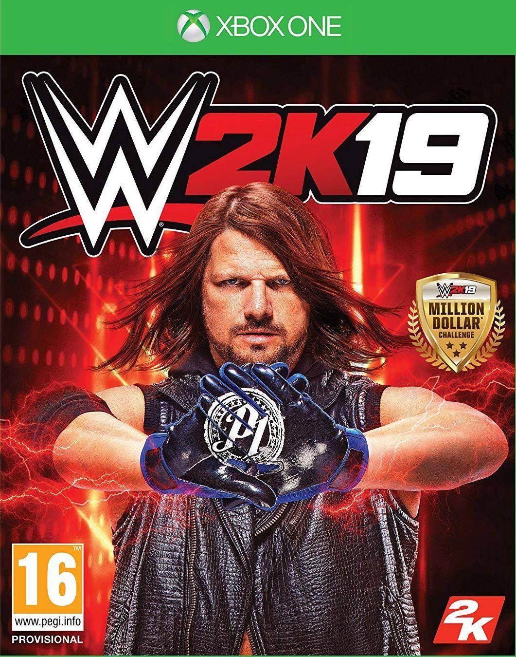 WWE 2K19 (Xbox One) + Бонус - 1