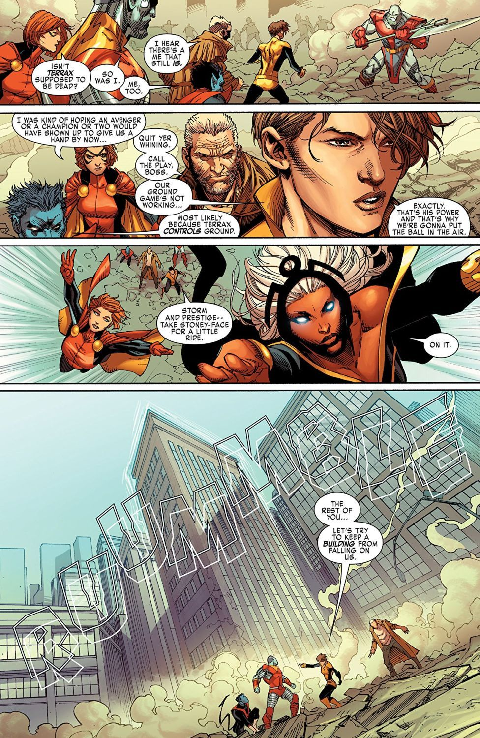 X-Men Gold Vol. 1 Back to the Basics - 4