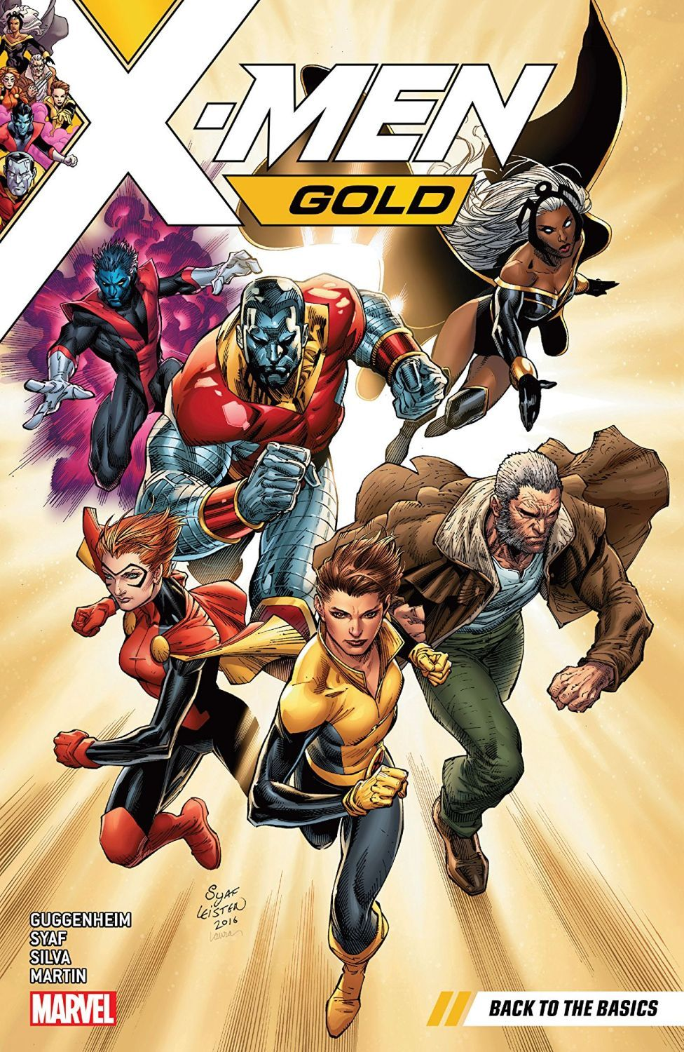 X-Men Gold Vol. 1 Back to the Basics - 1