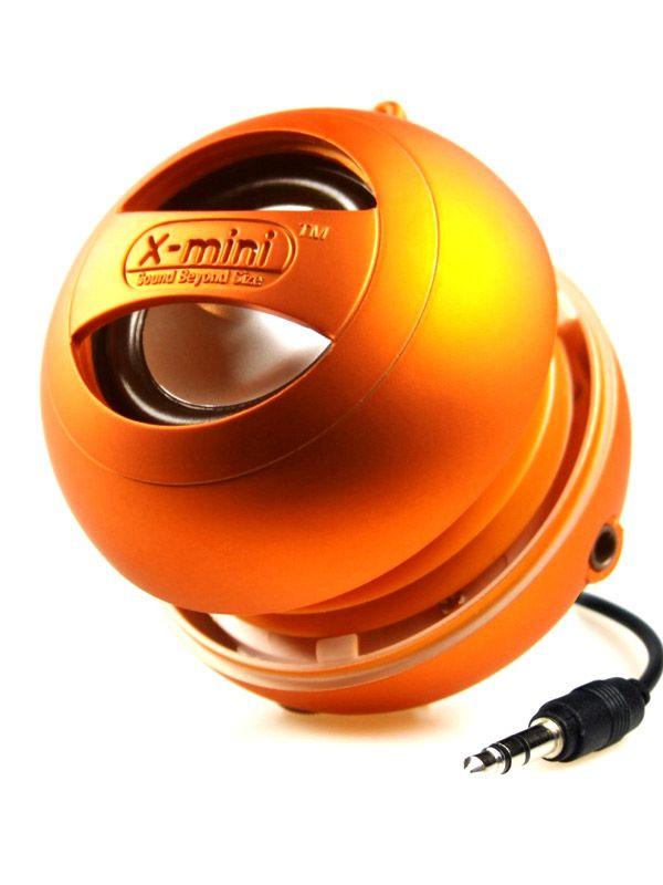 Мини колонка X-mini II - оранжева - 1