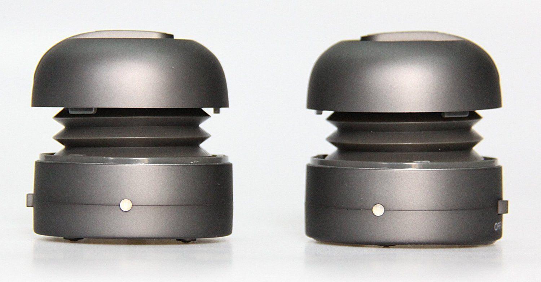 Мини колонка X-mini MAX - сива - 2