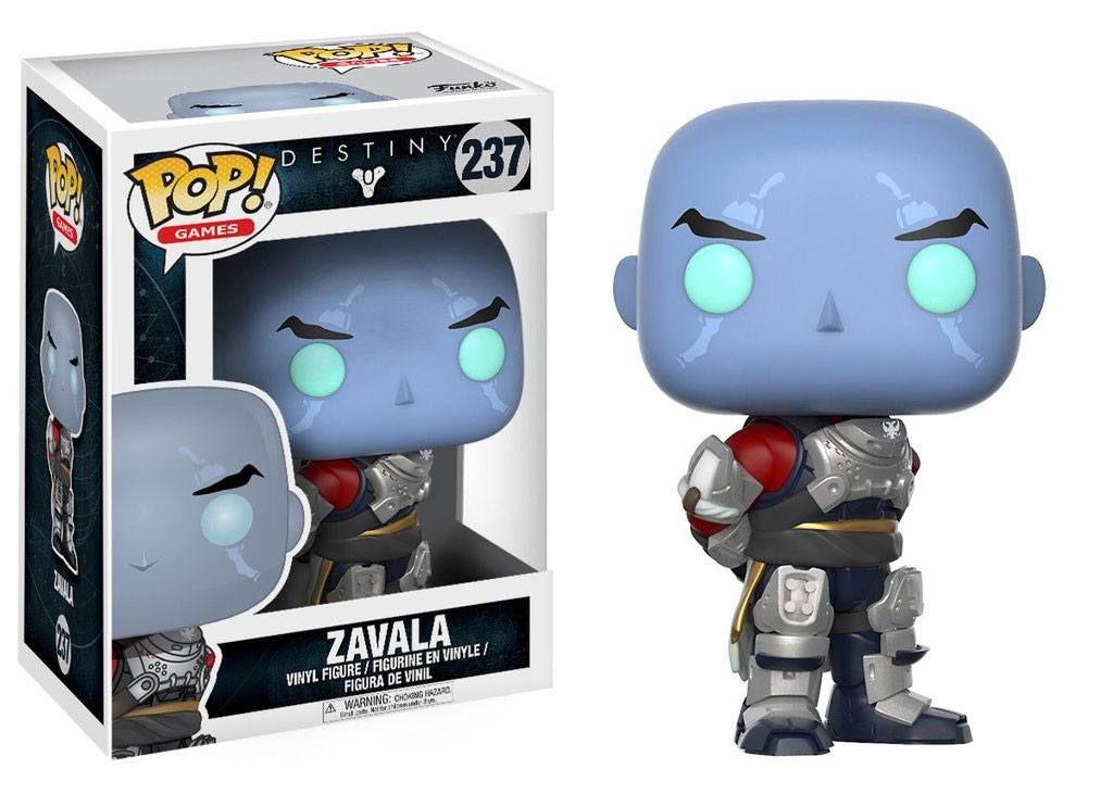 Фигура Funko Pop! Games: Destiny - Commander Zavala, #237 - 2