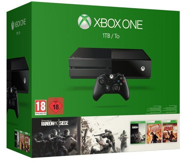 Xbox One 1TB + Rainbow 6 Siege & Vegas 1 & 2 - 1