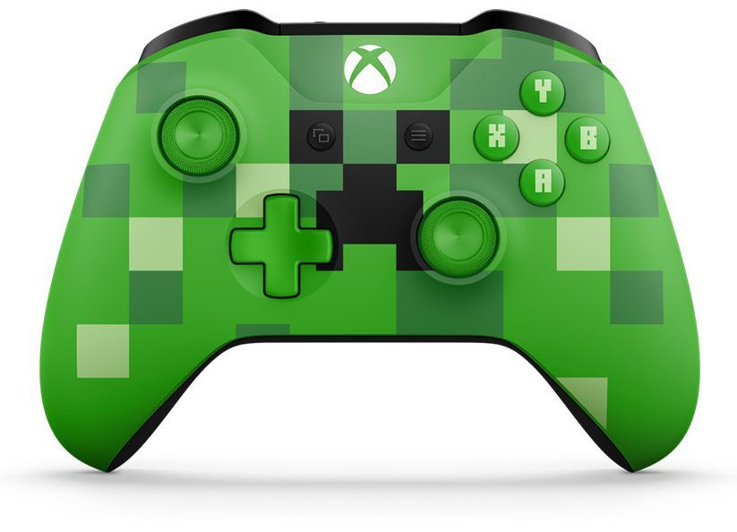 Microsoft Xbox One Wireless Controller - Minecraft Creeper - 1