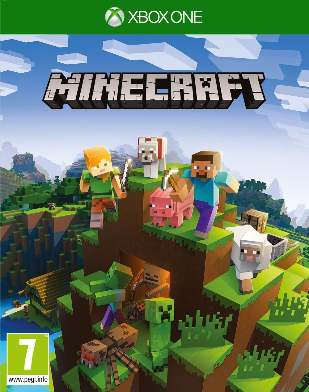 Minecraft Base Game Limited Edition (Xbox One) - 1