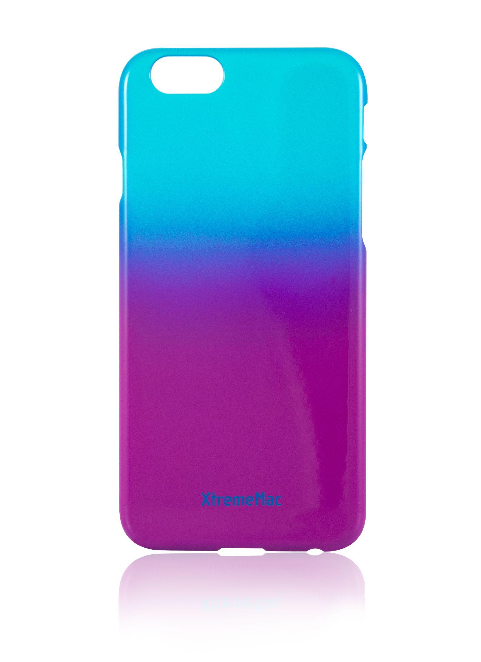Калъф XtremeMac Microshield Fade - за iPhone 6, iPhone 6s, син/лилав - 1