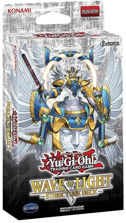 Yu-Gi-Oh Wave of Light Deck - 1