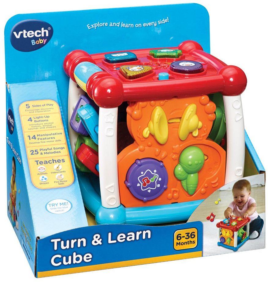 Занимателен куб Vtech - Подреди и научи - 2