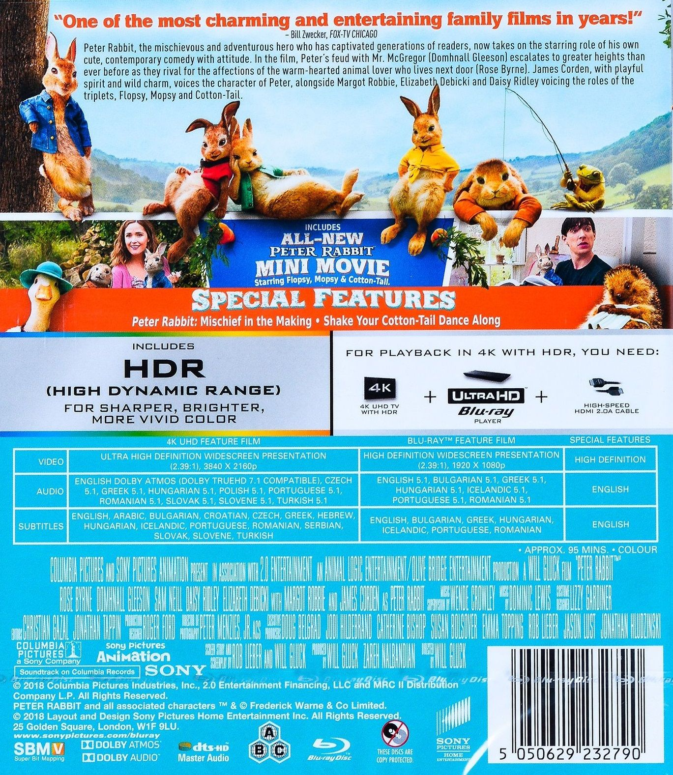 Зайчето Питър (4K UHD Blu-ray) - 3