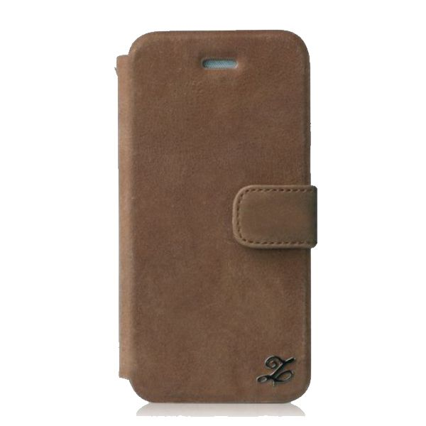 Zenus Prestige Vintage Leather Diary за iPhone 5 - 1