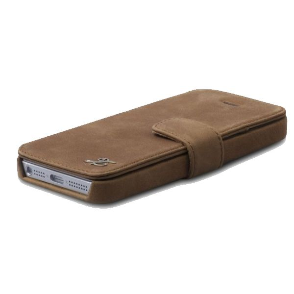 Zenus Prestige Vintage Leather Diary за iPhone 5 - 3
