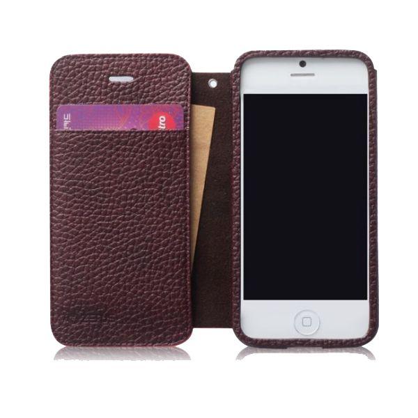 Zenus Masstige Color Edge Diary за iPhone 5 -  червен - 5