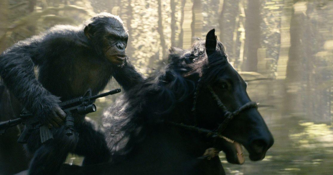 Зората на Планетата на маймуните 3D (Blu-Ray) - 5