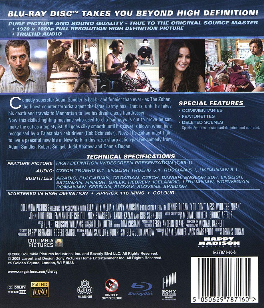 Зохан: Стилист от запаса - Нецензурирано издание (Blu-Ray) - 2