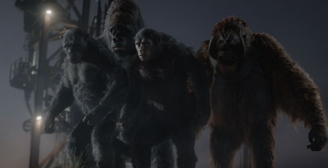 Зората на Планетата на маймуните 3D (Blu-Ray) - 7