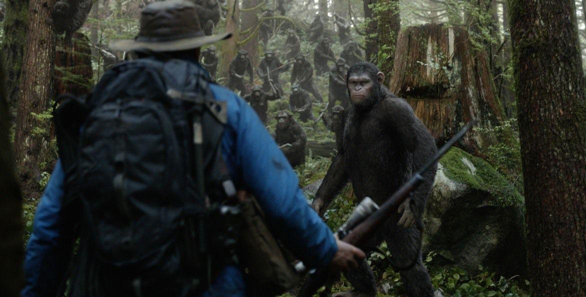Зората на Планетата на маймуните 3D (Blu-Ray) - 9