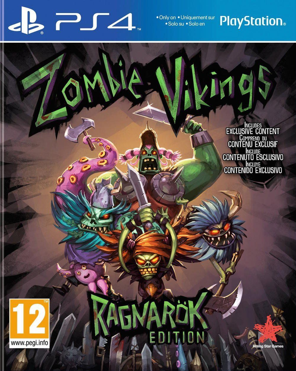 Zombie Vikings: Ragnarok Edition (PS4) - 1