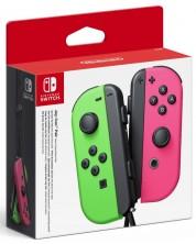 Nintendo Switch Joy-Con (комплект контролери) - зелено/розово -1