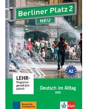 Berliner Platz Neu 2: DVD / Немски език - ниво А2: DVD носител -1