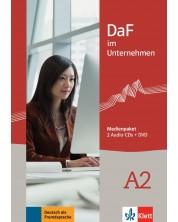 DaF im Unternehmen A2 Medienpaket 2 CD+DVD -1