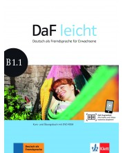 DaF Leicht B1.1 Kurs und Ubungsbuch+DVD-ROM -1