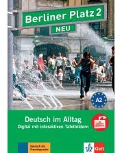 Berliner Platz Neu 2: Tafelbilder auf CD-ROM / Немски език - ниво А2: Интерактивни упражнения за дигитална дъска на CD-ROM -1
