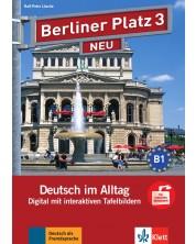 Berliner Platz Neu 3: Tafelbilder auf CD-ROM / Немски език - ниво В1: Интерактивни упражнения за дигитална дъска на CD-ROM -1