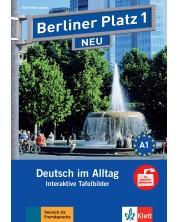 Berliner Platz Neu 1: Tafelbilder auf CD-ROM / Немски език - ниво А1: Интерактивни упражнения за дигитална дъска на CD-ROM -1