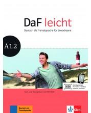 DaF Leicht A1.2 Kurs und Ubungsbuch+ DVD-ROM -1