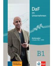 DaF im Unternehmen B1 Medienpaket 2 CD+DVD -1