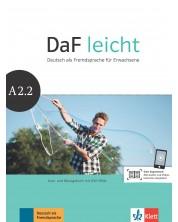 DaF Leicht A2.2 Kurs und Ubungsbuch+DVD-ROM -1