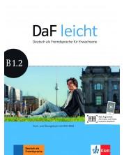 DaF Leicht B1.2 Kurs und Ubungsbuch+ DVD-ROM -1