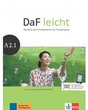 DaF Leicht A2.1 Kurs und Ubungsbuch+DVD-ROM -1
