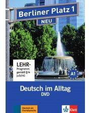 Berliner Platz Neu 1: DVD / Немски език - ниво А1: DVD носител -1