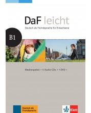 DaF Leicht B1 Medienpaket (4 Audio-CDs + 1 DVD) -1