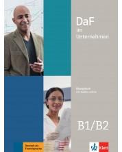 DaF im Unternehmen B1/B2 Kursbuch mit Audios und Filmen online