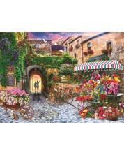 Пъзел Anatolian от 1000 части - Пазар за цветя -1