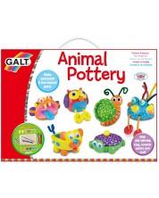 Творчески комплект Galt - Първи стъпки в грънчарството, Цветни животни -1