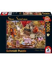 Пъзел Schmidt от 1000 части - Музикална мания, Стив Съндрам -1