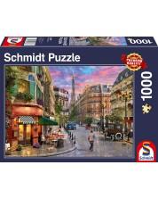 Пъзел Schmidt от 1000 части - Уличката, водеща към Айфеловата кула -1