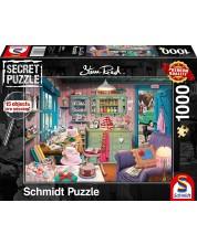 Пъзел-загадка Schmidt от 1000 части - Стаята с вкусотиите на баба, Стив Рийд -1