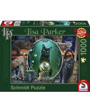 Пъзел Schmidt от 1000 части - Магически котки, Лиса Паркър -1