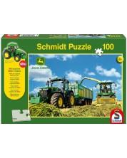 Пъзел Schmidt от 100 части - John Deere 7310R