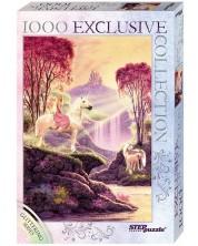 Блестящ пъзел Step Puzzle от 1000 части - Магическата долина -1