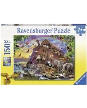 Пъзел Ravensburger от 150 XXL части - Качване на Ноевия ковчег