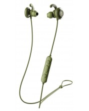 Спортни слушалки Skullcandy - Method Active Wireless, moss/olive/yellow